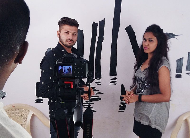 camera practice at filmit academy